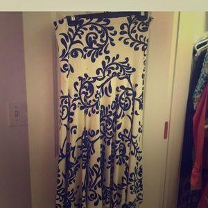 J McLaughlin strapless dresss